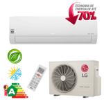Ar Condicionado Split Hi-Wall LG DUAL Inverter Econômico 22.000 Btu/h Quente/Frio 220V - S4-W24KE3W1