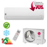 Ar Condicionado Split Hi-Wall LG DUAL Inverter Econômico 12.000 Btu/h Frio 110V - S4NQ12JA3WF
