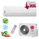 Ar Condicionado Split Hi-Wall LG DUAL Inverter Econômico 18.000 Btu/h Frio 220V - S4-Q18KL3WB