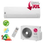 Ar Condicionado Split Hi-Wall LG DUAL Inverter Econômico 18.000 Btu/h Quente/Frio 220V - S4-W18KL3WA