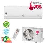 Ar Condicionado Split Hi-Wall LG DUAL Inverter Econômico 9.000 Btu/h Frio 220V - S4-Q09WA5WB