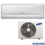 Ar Condicionado Split Max Plus Samsung com 9.000 BTUs, Quente e Frio, Branco 220V
