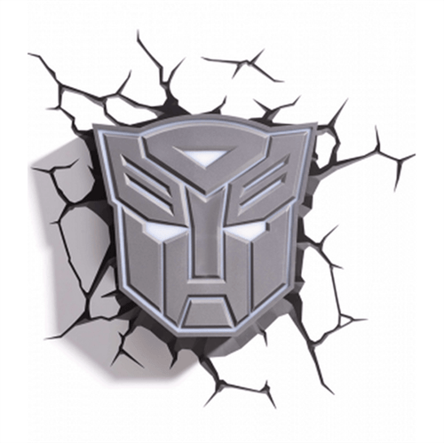 Arandela 3D Transformers Escudo Autobots Startec 121400015