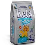 Areia Higienica para Gatos 4kg - Kets Perfumada Talco