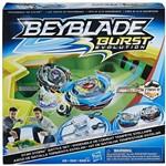 Arena Beyblade Burst Evolution Genesis Valtryek V3 Satomb S3 Hasbro com 2 Lançadores 2 Piões - Suika