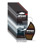 Aromatizante Areon Sport Lux Gold C/10 Unidades