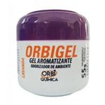 Aromatizante em Gel Lavanda Orbigel 55g