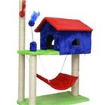 Arranhador para Gatos Casa com Rede House Casinha