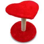 Arranhador para Gatos - Coração Vermelho - AMFPET