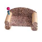 Arranhador para Gatos Modelo Sofá Pelucia Onça
