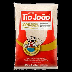 Arroz Tio João Branco 5kg