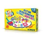 Art Kids Letras e Numeros 450g