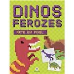 Arte em Pixel - Dinos Ferozes