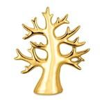 Árvore da Vida em Cerâmica Dourada Pequena 8601 Mart