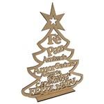 Árvore de Natal Fé Paz