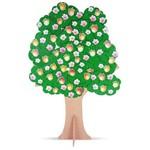 Árvore para Dinâmicas 113 Peças em Mdf 1725 Carlu
