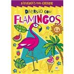 Diversão com Flamingos