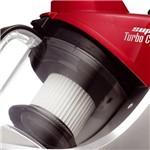 Aspirador de Pó Mondial Super Turbo Cyclo Vermelho com Saco de Pó Removível 2,6 Litros