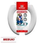 Assento Almofadado Aberto para Cadeira de Banho 3cm Mebuki
