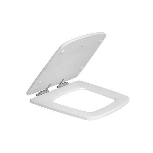 Assento Poliéster Branco com Easy Clean e Slow Close para Bacia Clean AP467 - Deca - Deca