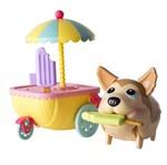 Au Au Pets e Amigos - Pet e Carrinho de Sorvete - Multikids