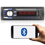 Auto Radio Mp3 Player Bluetooth USB Multilaser Aparelho de Som Automotivo