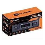 Auto Radio Vinik Amp500 com Display Usb Radio Fm