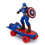 Avengers Skate Radical de Friccção - Capitão América - Toyng
