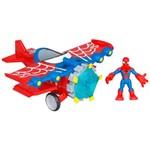 Avião Acrobático - Spider Man - Playskool Heroes - Hasbro