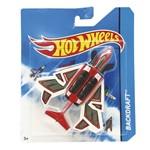 Avião Hot Wheels - Backdraft - Mattel