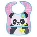 Babador Impermeável com Bolso Panda Buba