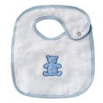 Babador Realeza Azul Bebê