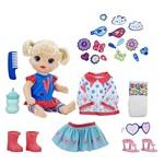 Baby Alive Loira Vestida para Passear - Hasbro