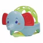 Baby Animal com Luz Elefante Azul - Buba