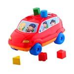 Baby Car Vermelho - Calesita