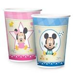 Baby Disney Chá Revelação Copo Papel 180ml C/8 - Regina