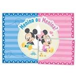 Baby Disney Chá Revelação Painel 4 Partes - Regina