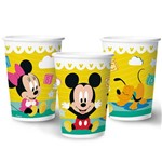 Baby Disney Copo Papel 180ml C/8 - Regina