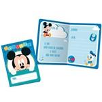 Baby Disney Mickey Convite C/8 - Regina
