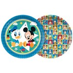 Baby Disney Mickey Prato Papel 18cm C/8 - Regina
