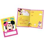 Baby Disney Minnie Convite C/8 - Regina