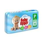 Baby Roger Mega Fralda Infantil P C/96 (kit C/06)