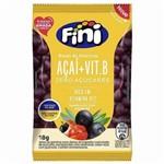 Bala de Gelatina Natural Sweets com Acai - 18g - Fini
