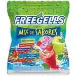 Bala Dura Mix de Sabores Verde Refrescante Freegells 584g - Riclan