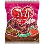 Bala My Toffee Rech 600gr Choc C/morango