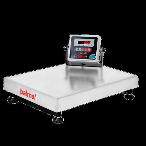 Balança Eletrônica Balmak Inox 300Kg BK-300I1B - PA1153 - Bateria