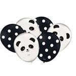 Balão Bexiga do Tema Panda N 9- 25 Unidades