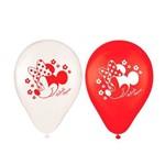 Balão / Bexiga Minnie Red N 9