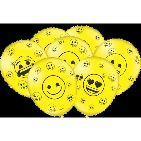 Balão de Látex Emoji