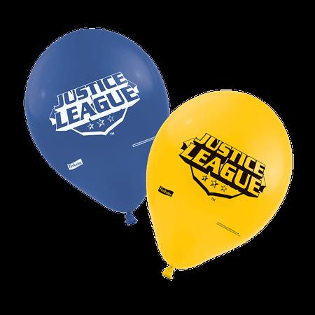 Balão de Látex Liga da Justiça - 25 Unidades